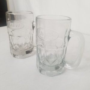 A&W Root Beer Glass Mugs